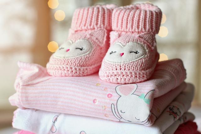 dětské růžové botičky