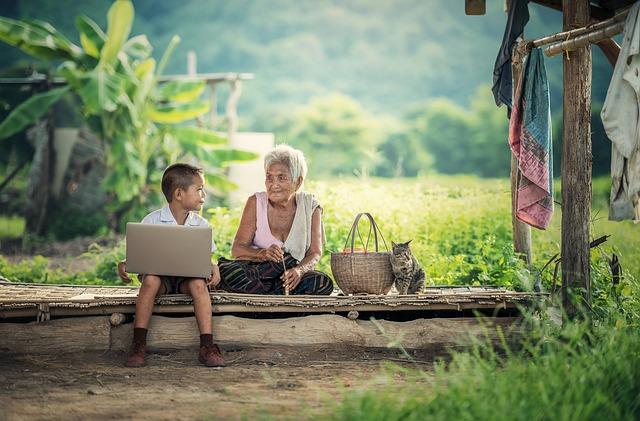 internet i v přírodě
